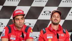 MotoGP Italia 2019, Mugello, conferenza stampa del giovedì: Danilo Petrucci e Andrea Dovizioso (Ducati)