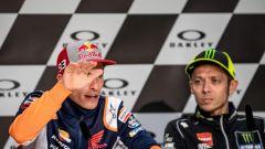 MotoGP Italia 2019, Mugello, conferenza stampa del giovedì: Marquez (Honda) e Rossi (Yamaha)