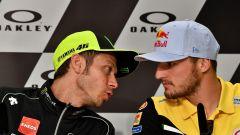 MotoGP Italia 2019, Mugello, conferenza stampa del giovedì: Valentino Rossi (Yamaha) e Jack Miller (Ducati)