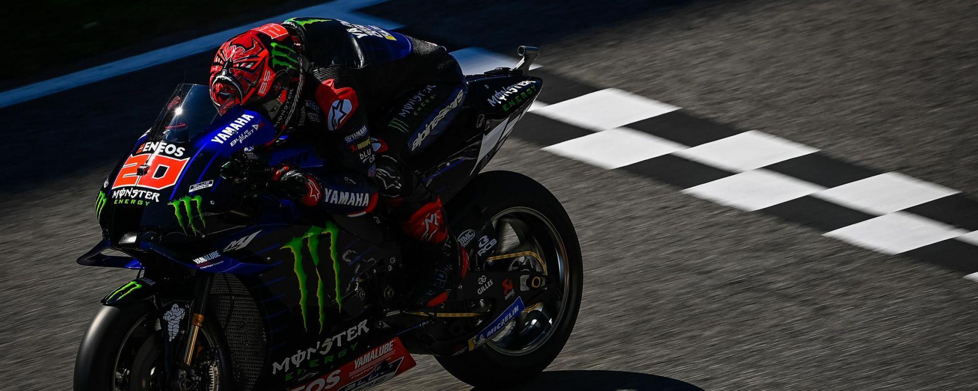 MotoGP Italia 2021, Mugello: Fabio Quartararo (Yamaha)
