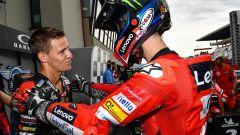 MotoGP Italia 2021, Mugello: Francesco Bagnaia (Ducati) e Fabio Quartararo (Yamaha)