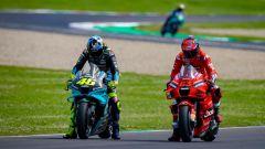 MotoGP Italia 2021, Mugello: Valentino Rossi (Yamaha) e Pecco Bagnaia (Ducati)