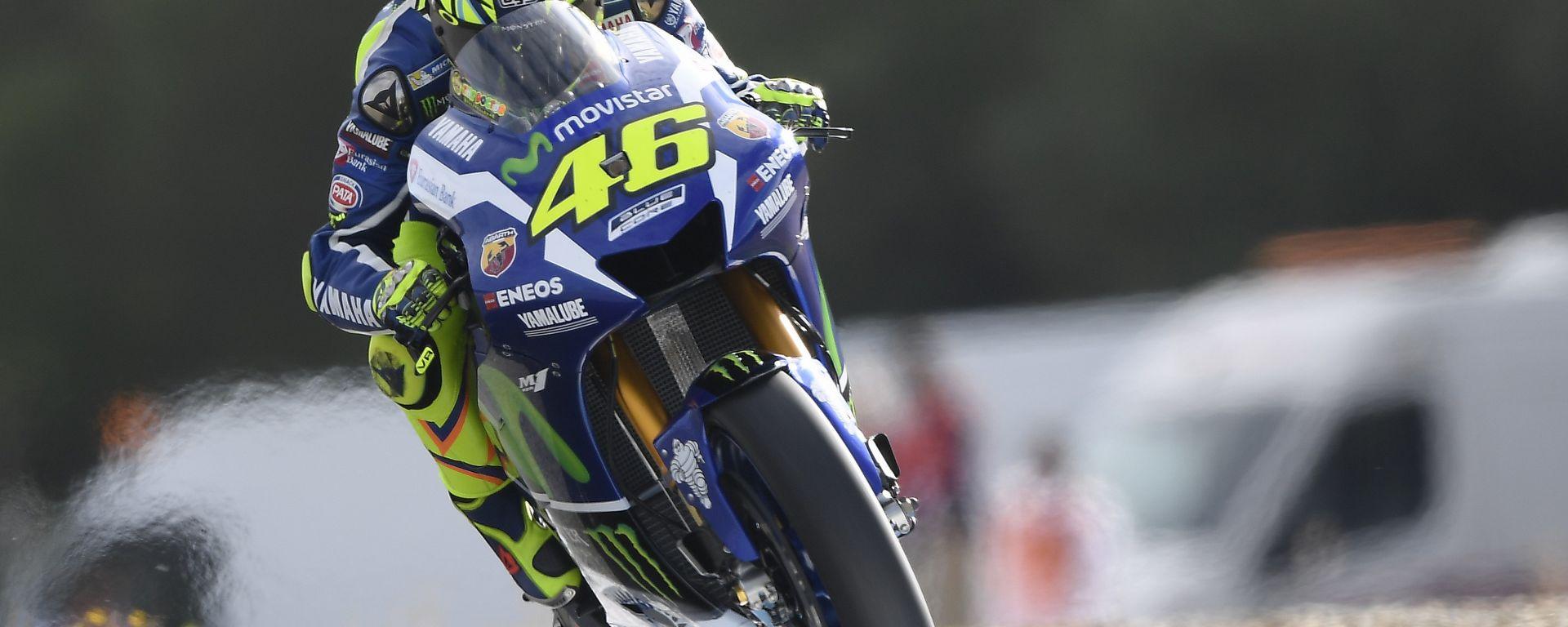 Motogp Jerez: Valentino Rossi conquista la pole, davanti a Jorge Lorenzo e Marc Marquez