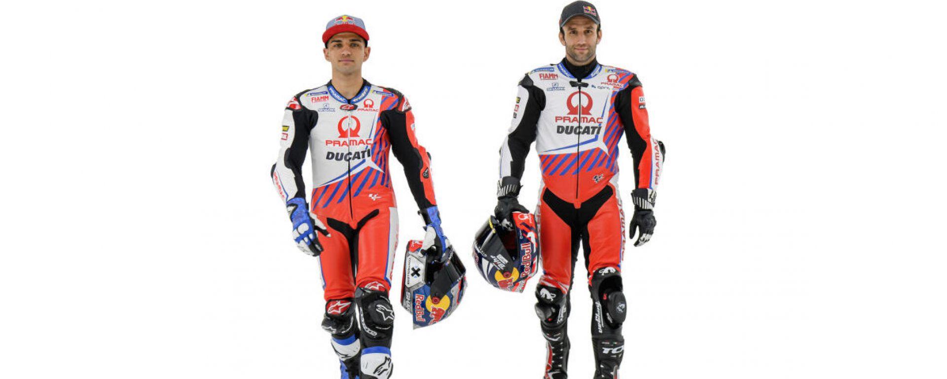MotoGP: Jorge Martin e Johann Zarco (Ducati Pramac)