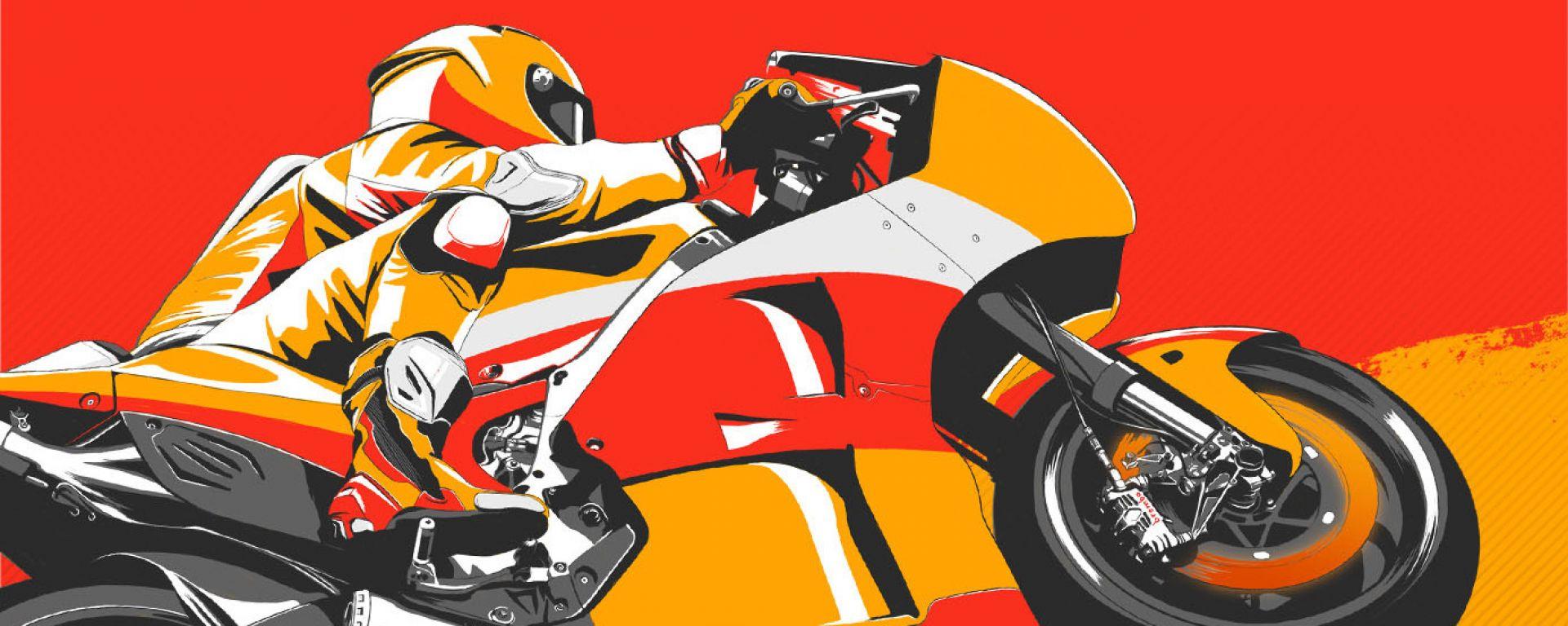 MotoGP Lunghezza frenata Honda by Brembo