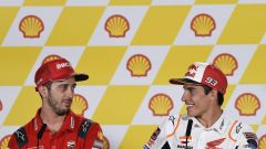 "MotoGP Sepang, Dovizioso: ""Difficile fermare Marquez"""