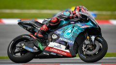 MotoGP Valencia, FP1: Quartararo su Miller, Rossi cade