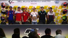MotoGP Malesia 2019, Sepang: la conferenza stampa del giovedì con Syahrin, Miller, Dovizioso, Marquez, Quartararo e Crutchlow