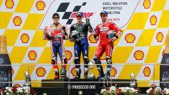 MotoGP Malesia 2019, Sepang: Marc Marquez (Honda), Maverick Vinales (Yamaha), Andrea Dovizioso (Ducati)