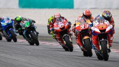 MotoGP Malesia 2019, Sepang: prime fasi di gara con Miller, Marquez, Dovizioso, Rossi, Morbidelli, Rins