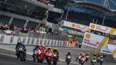 MotoGP Malesia 2019, Sepang: primo giro