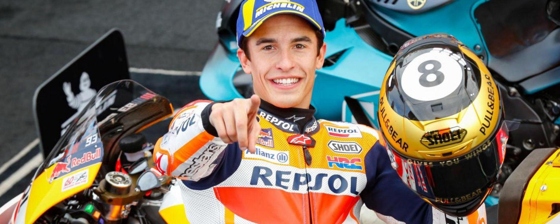 Marc Marquez rinnova con Honda fino al 2024