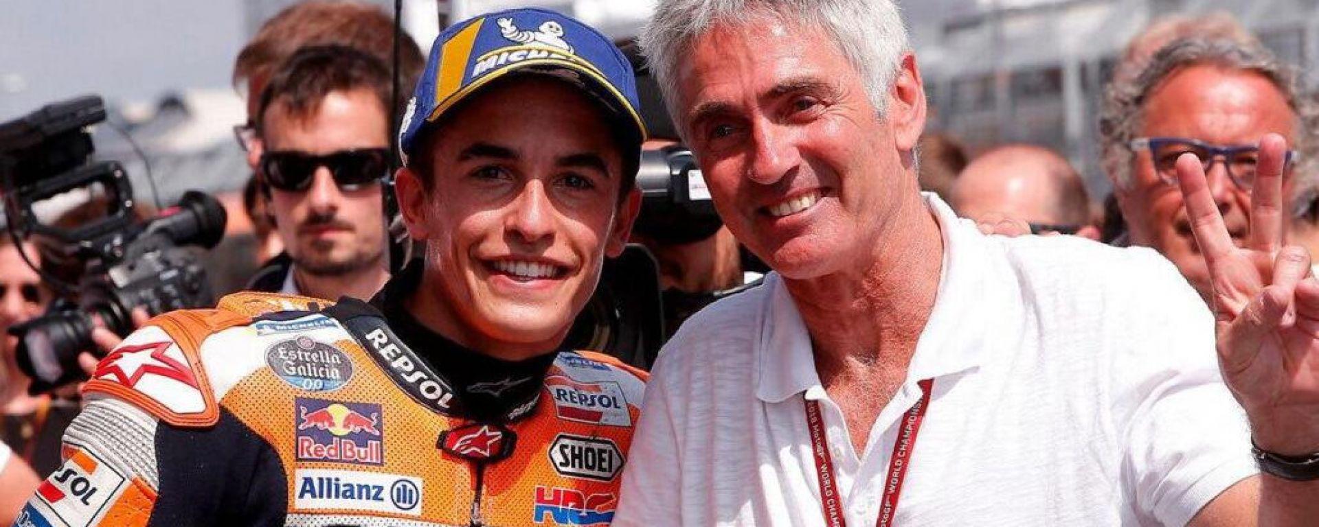 MotoGP: Marc Marquez e Mick Doohan