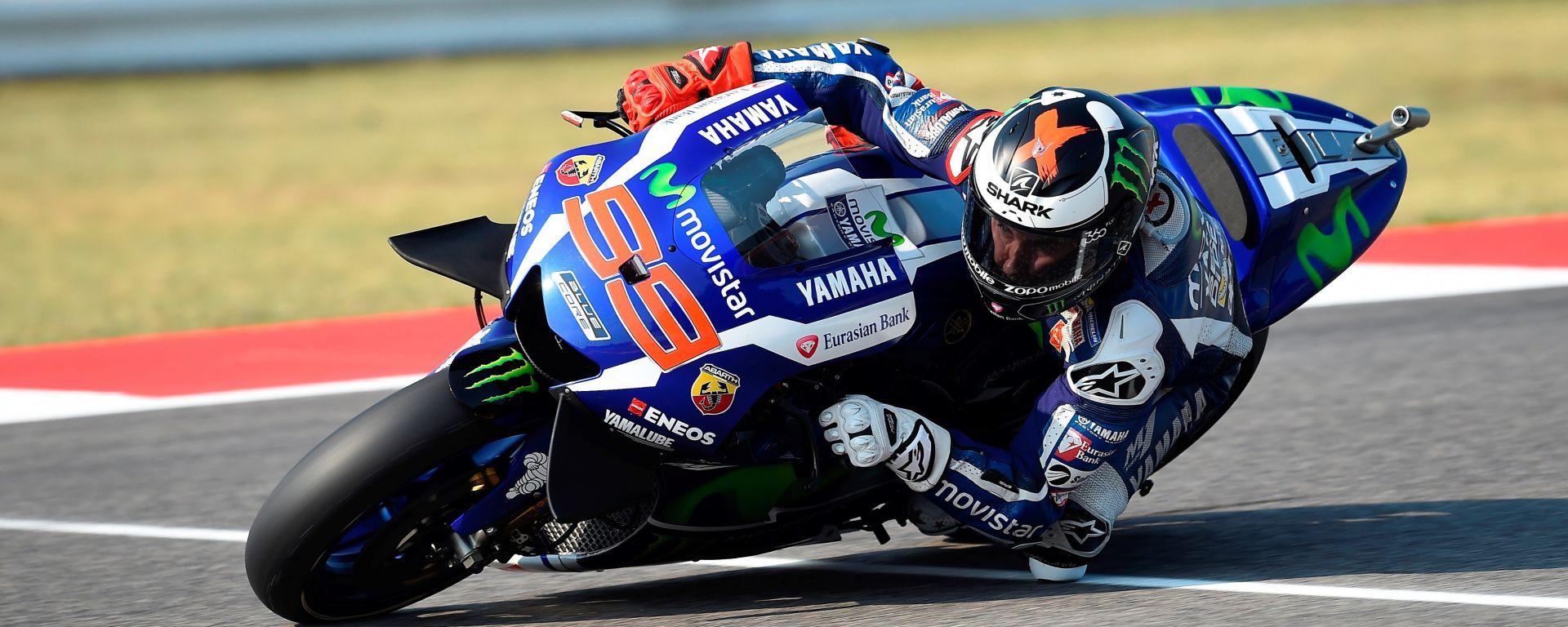MotoGP Misano 2016: Jorge Lorenzo in pole davanti a Rossi e Vinales