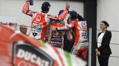 MotoGP Misano 2017, Andrea Dovizioso sul gradino più basso del podio
