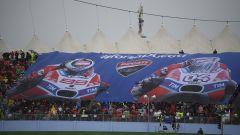 MotoGP Misano 2017, la tribuna Ducati