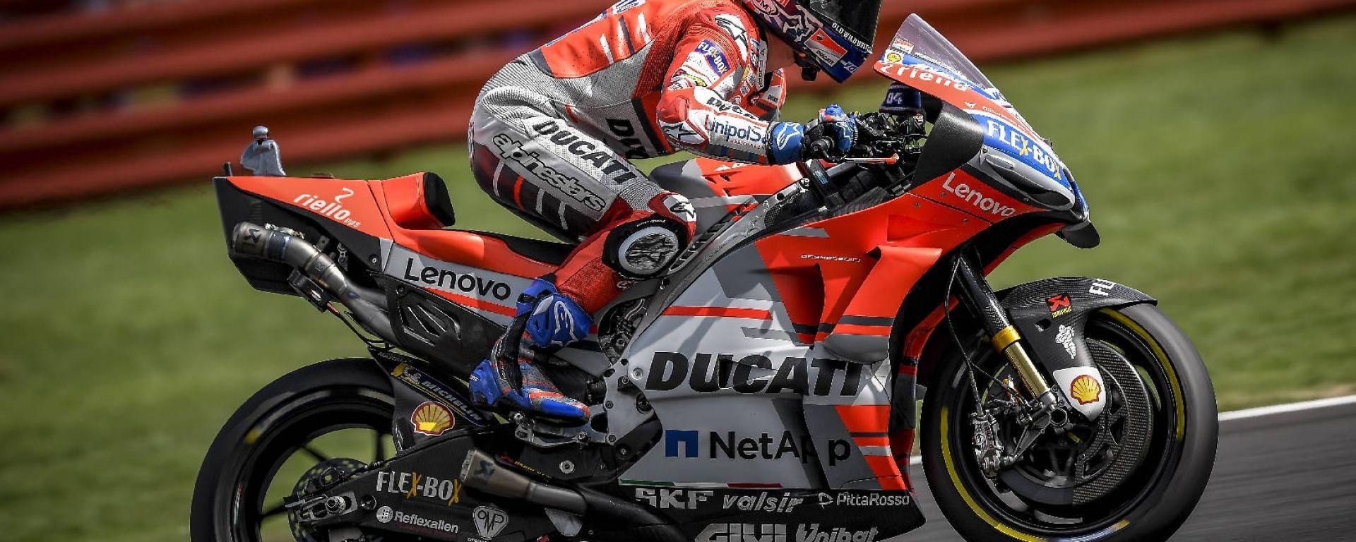 MotoGP Misano 2018: Andrea Dovizioso il più veloce del Venerdì