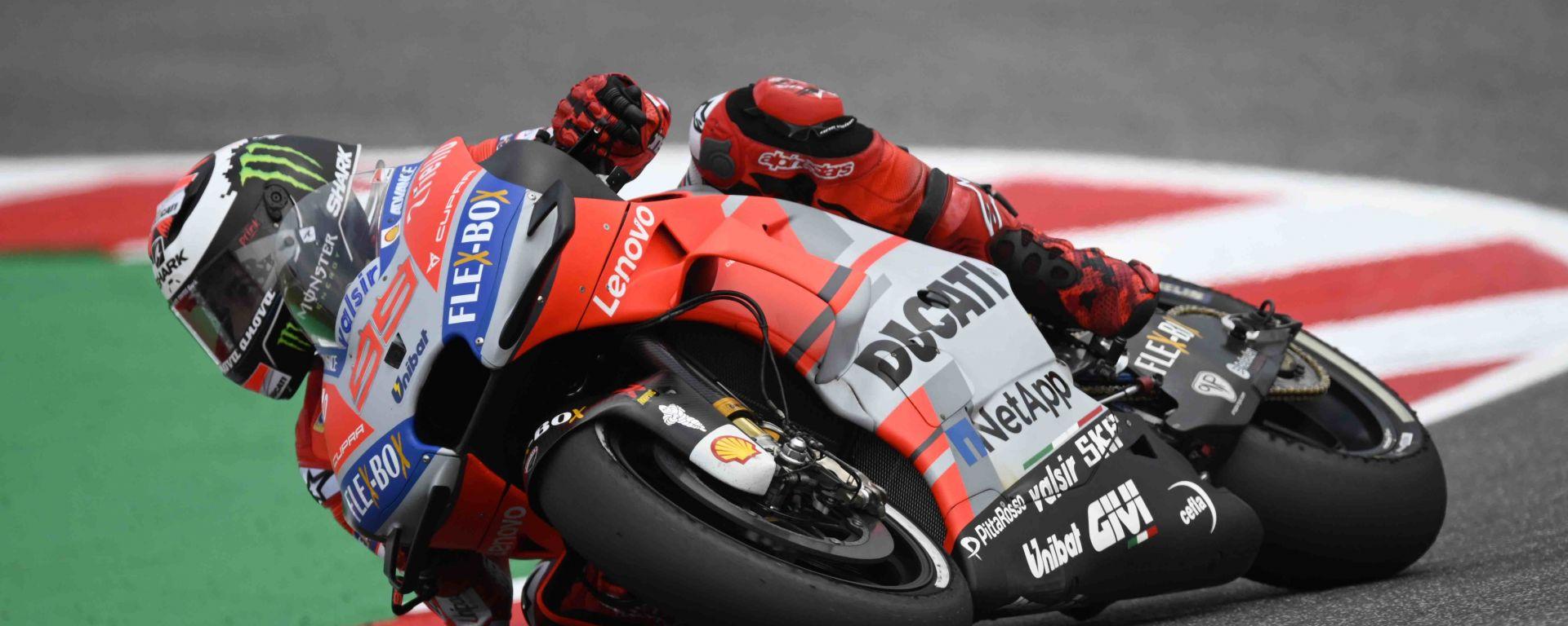 MotoGP Misano 2018: Jorge Lorenzo in pole davanti a Miller