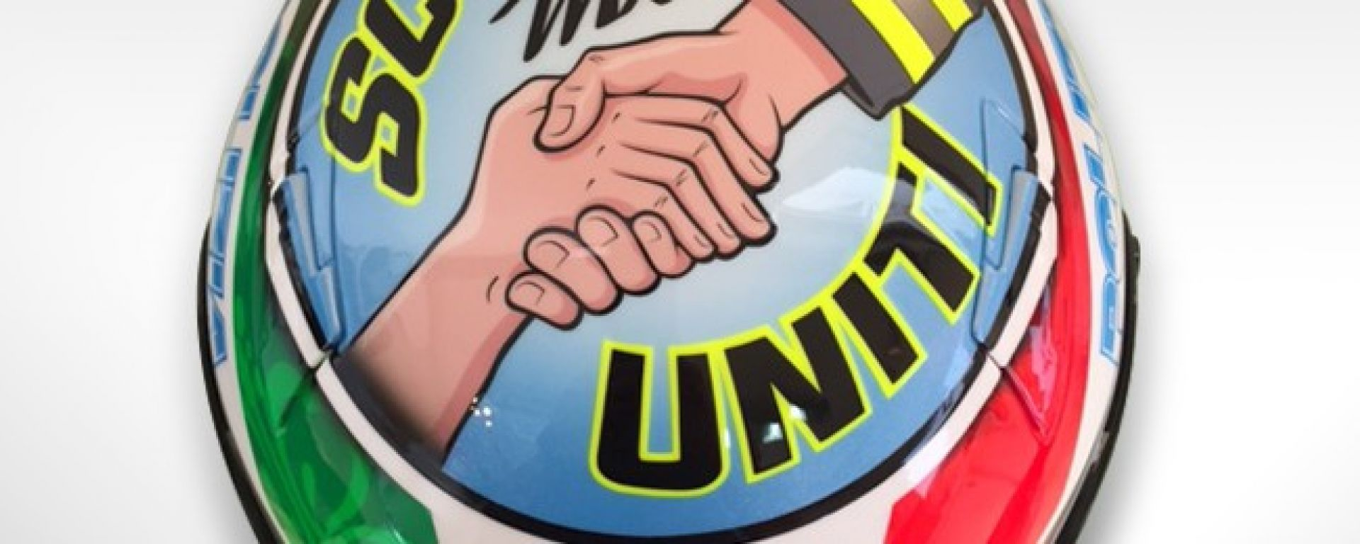 MotoGP Misano: Petrucci dedica il suo X-Lite ai terremotati