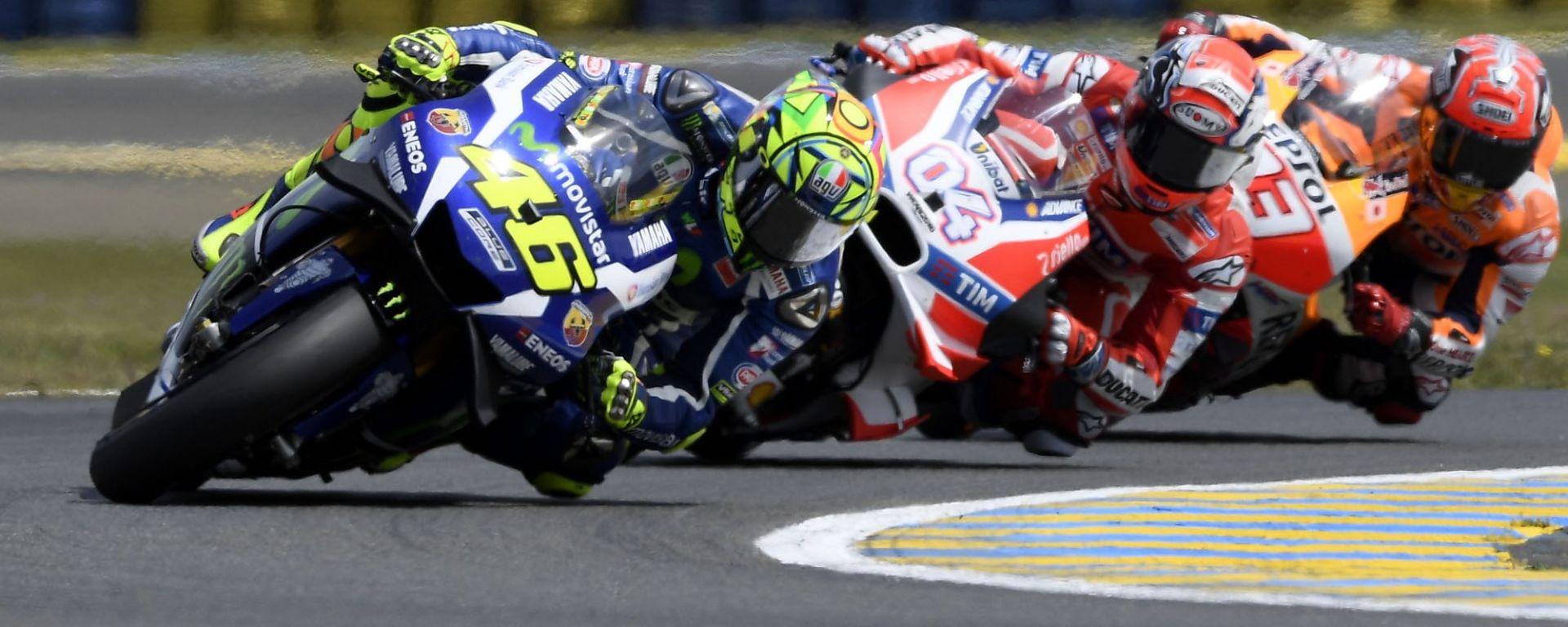 MOTOGP 2017: MotoGP Mugello 2017: gli orari della diretta tv di prove libere, qualifiche e gare ...