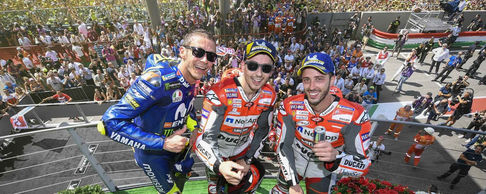 MotoGp Mugello 2018: le pagelle del GP d'Italia
