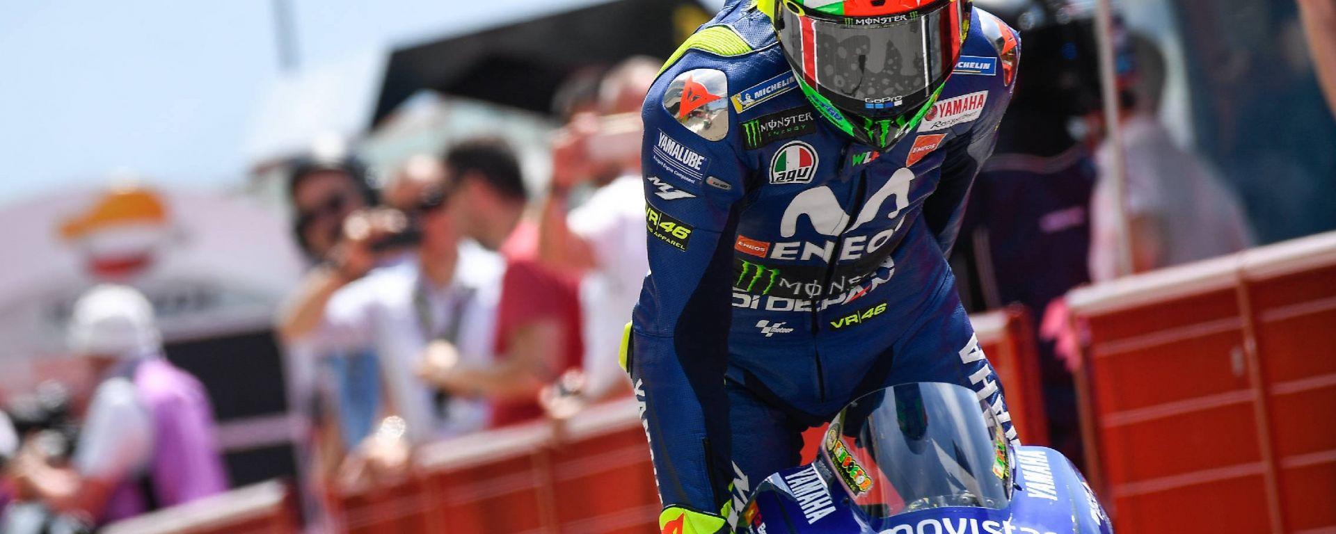 MotoGP Mugello 2018: Valentino Rossi sigla pole e record