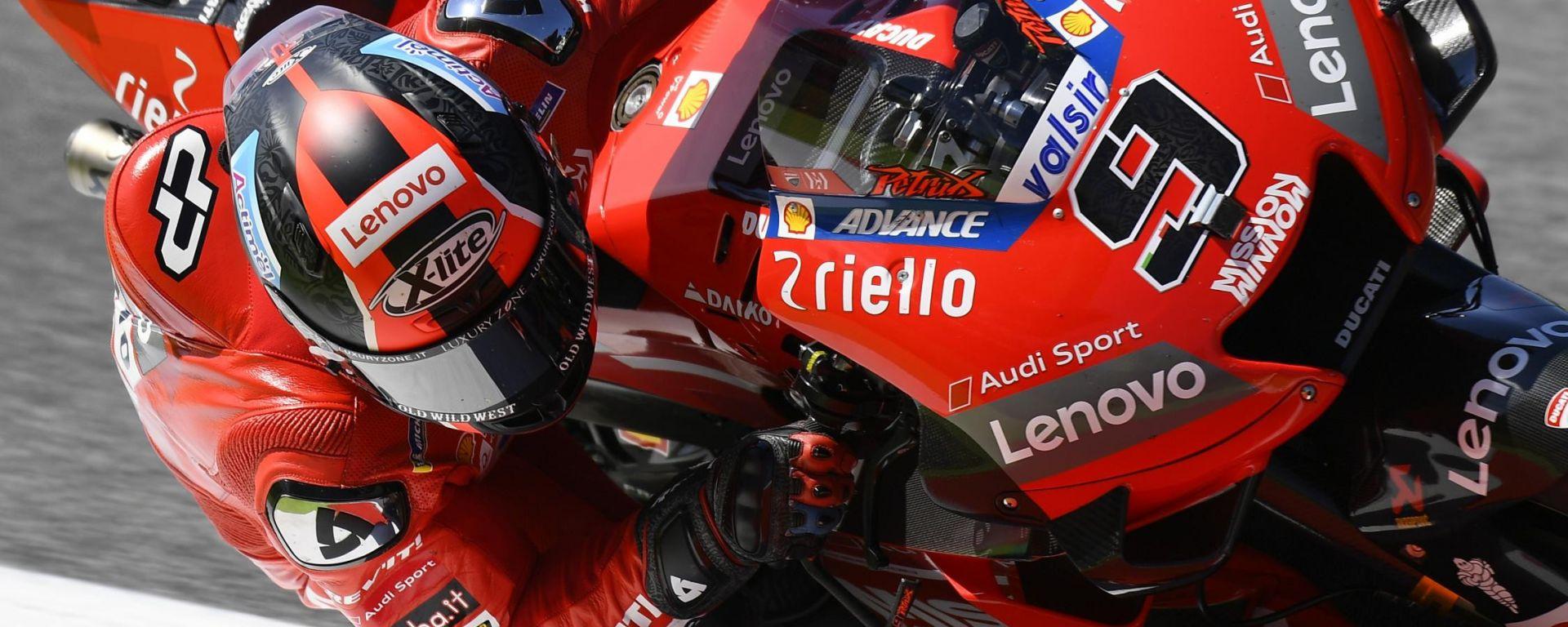 MotoGP Mugello: finalmente Petrucci! battuti Marquez e Dovi