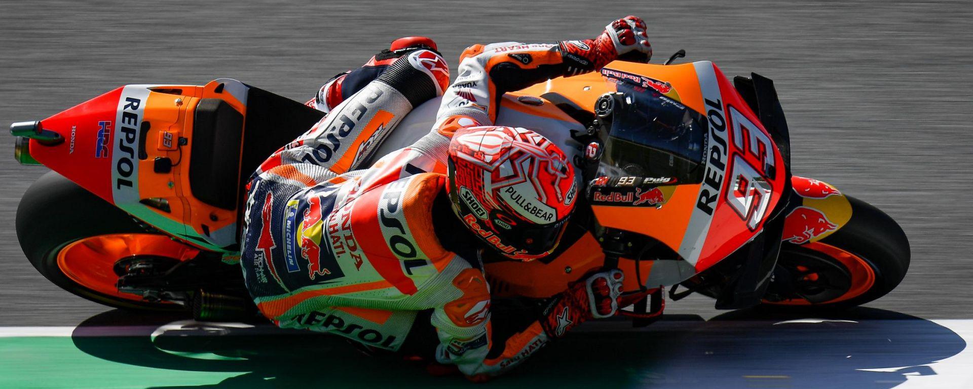 MotoGP Mugello: Marquez ruba la scia a Dovi ed è pole! 3° Petrucci