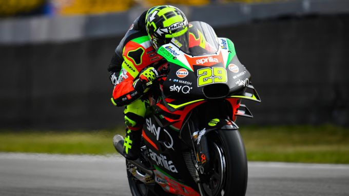 MotoGP Olanda 2019, Andrea Iannone (Aprilia)