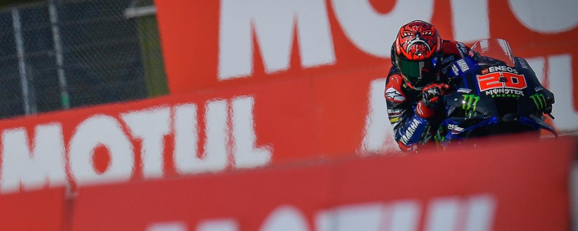 MotoGP Olanda 2021, Assen: Fabio Quartararo (Yamaha)