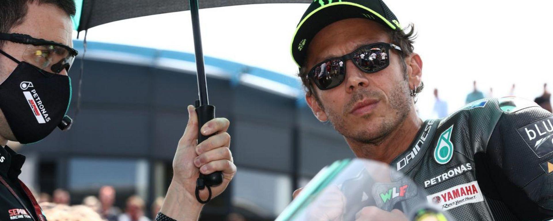 MotoGP Olanda 2021, Assen: Valentino Rossi (Yamaha Petronas)