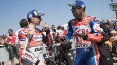 MotoGP, polemica social tra Lorenzo e il manager di Petrucci