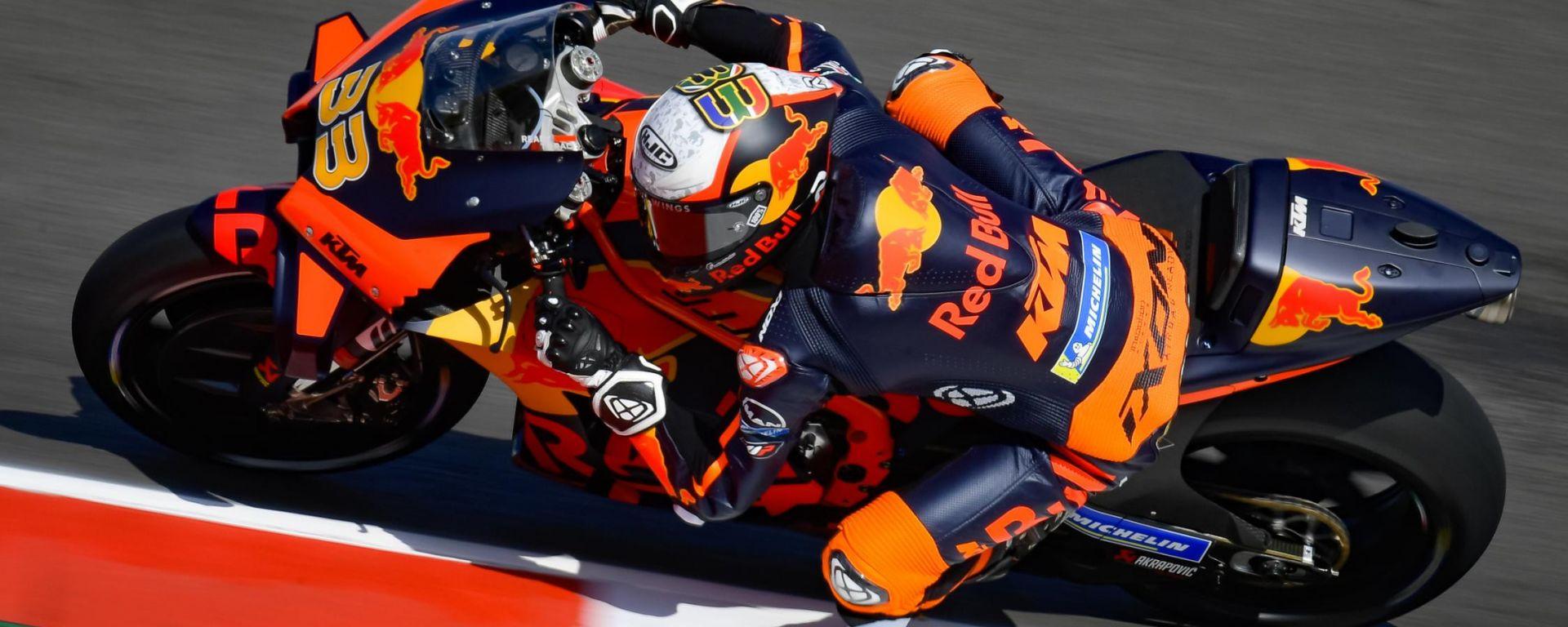 MotoGP Portogallo 2021, Portimao: Brad Binder (KTM)