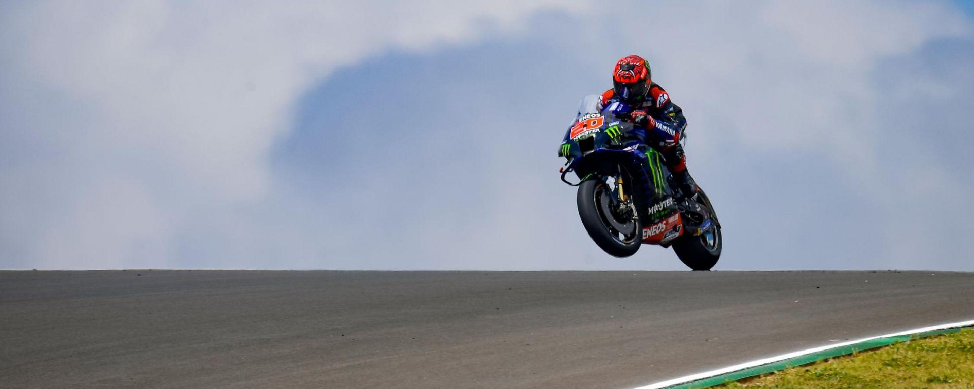 MotoGP Portogallo 2021, Portimao: Fabio Quartararo (Yamaha Monster Energy)