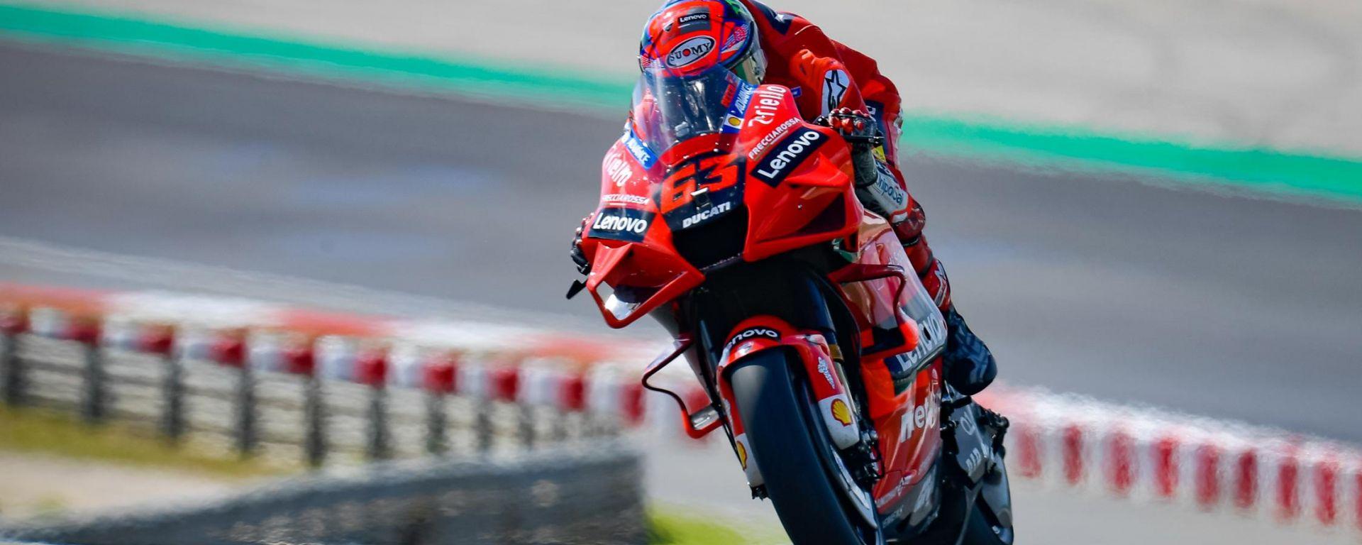MotoGP Portogallo 2021, Portimao: Francesco Bagnaia (Ducati Team)