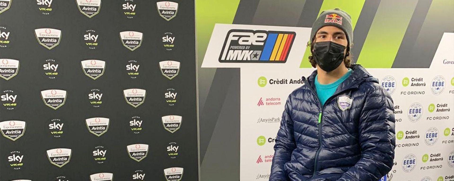 MotoGP, presentazione Team Avintia Esponsorama 2021, Enea Bastianini