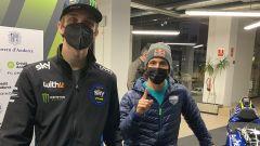 MotoGP, presentazione Team Avintia Esponsorama Sky VR46 2021, Luca Marini ed Enea Bastianini