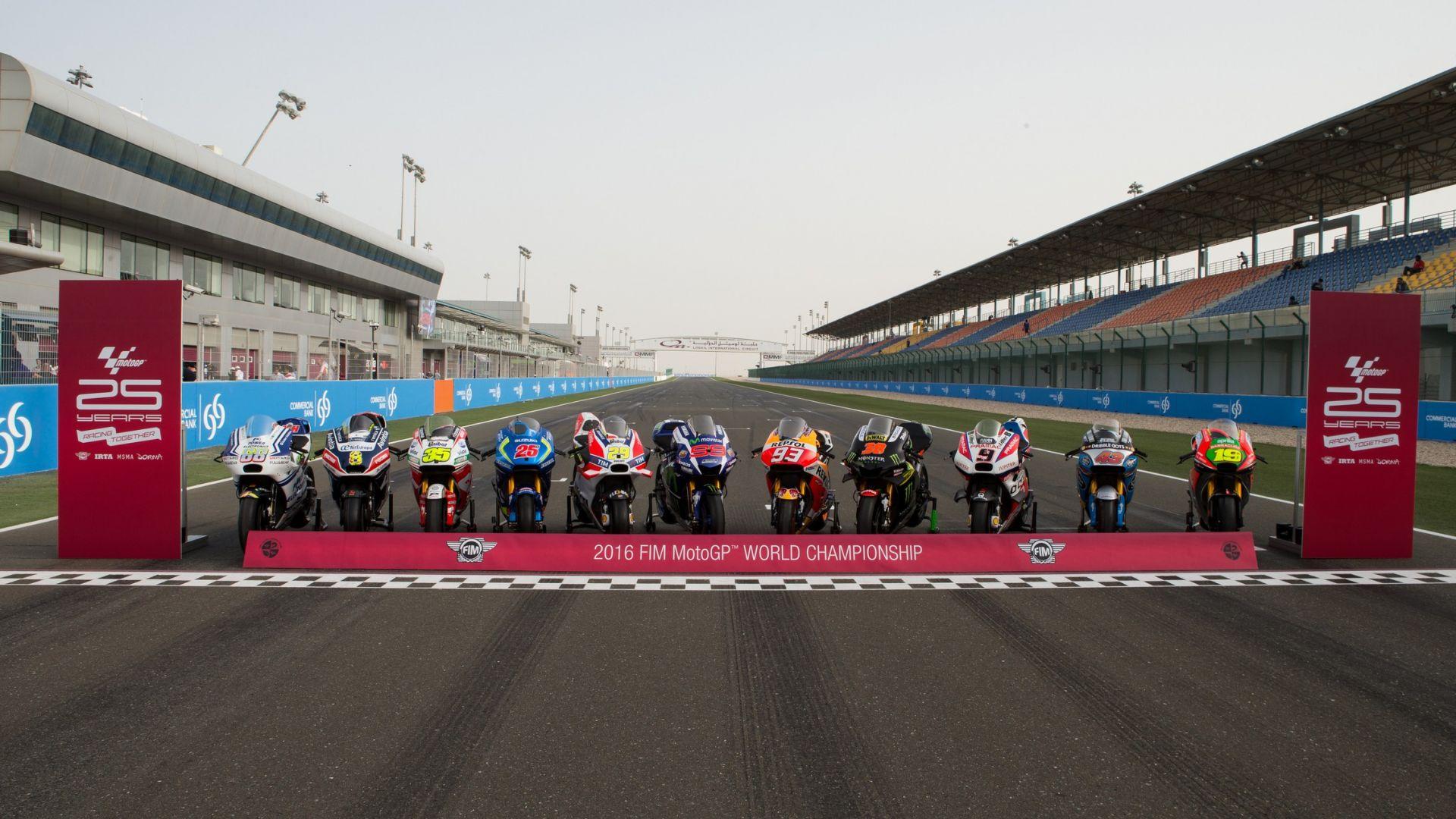 MOTOGP 2016: MotoGP 2016: meno tre al Gp del Qatar - MotorBox