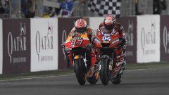 MotoGP Qatar 2019 - Dovizioso vince e beffa Marquez, Rossi 5° - Immagine: 1