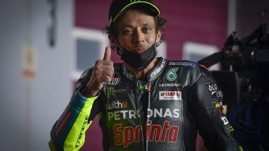 MotoGP Qatar 2021, Losail: Valentino Rossi (Yamaha Petronas)
