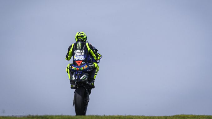 MotoGP Rep Ceca 2019, Brno, Valentino Rossi (Yamaha)
