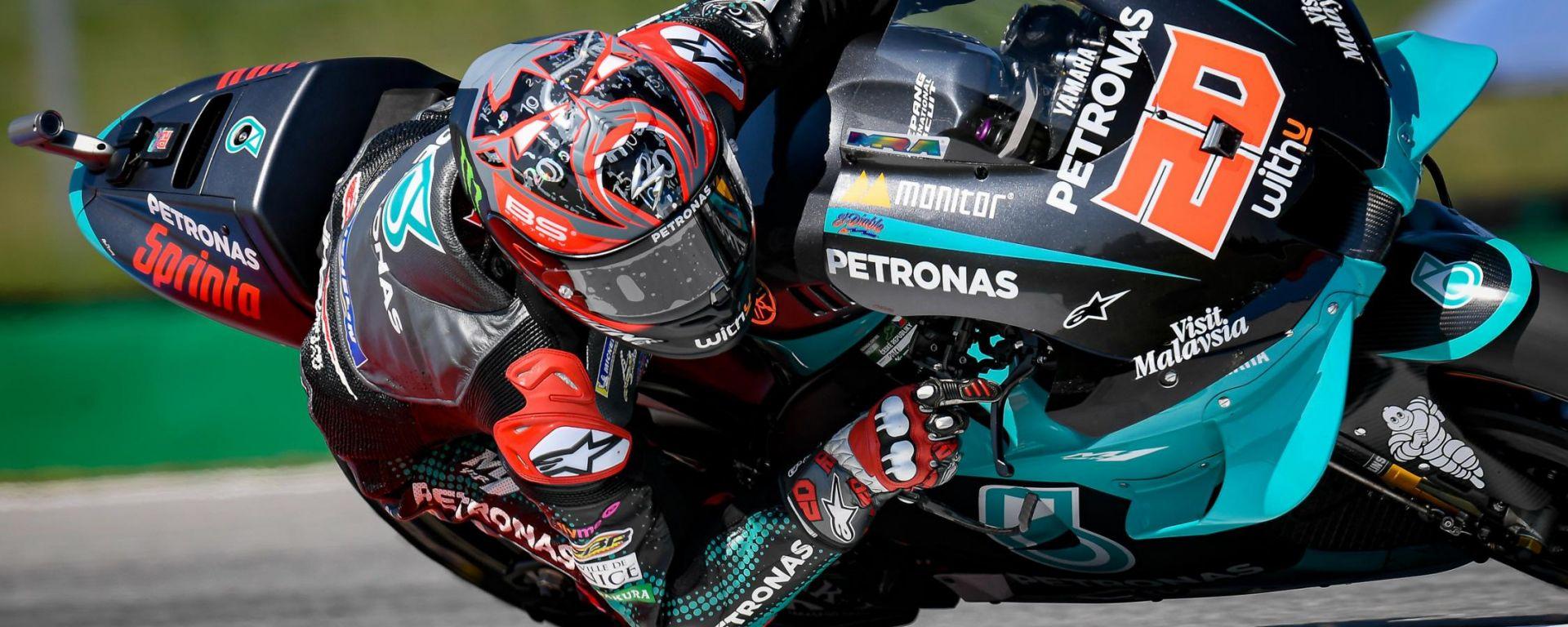 MotoGP Rep Ceca 2020, Brno: Fabio Quartararo (Yamaha)