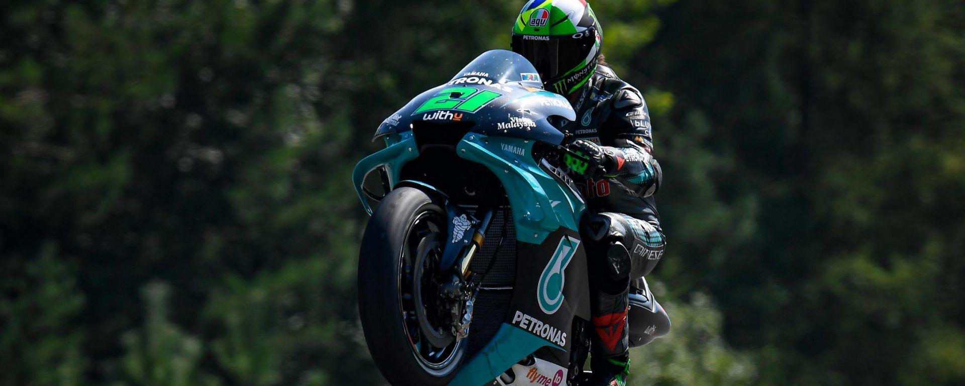 MotoGP Rep Ceca 2020, Brno: Franco Morbidelli (Yamaha)