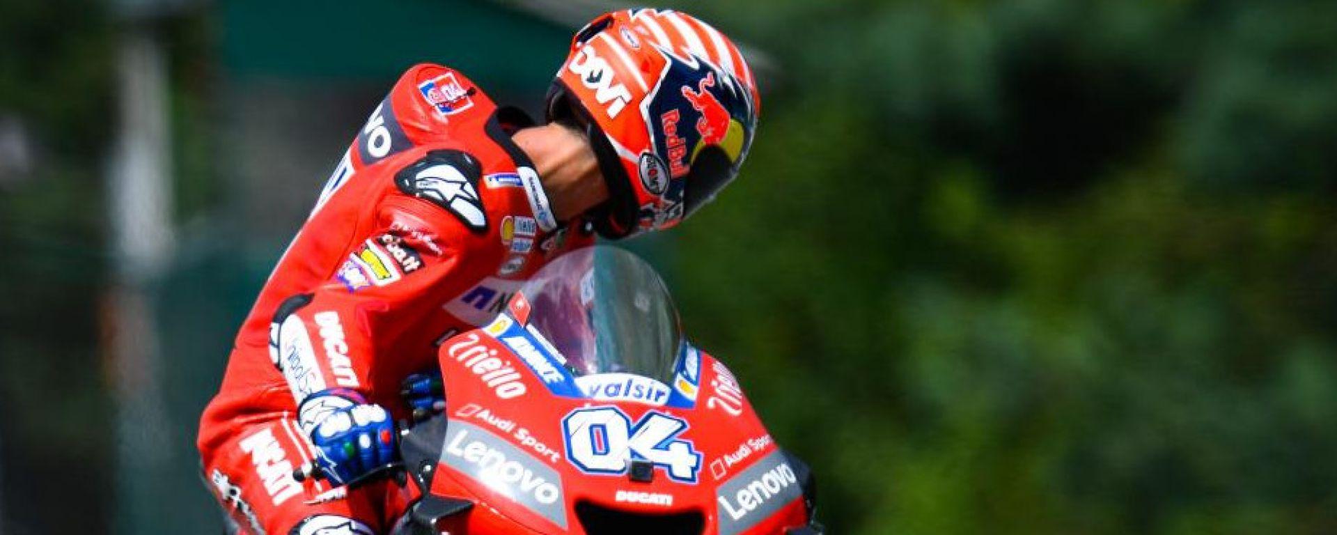 """MotoGP Rep.Ceca, Dovizioso solo 4°: """"Va bene così"""""""