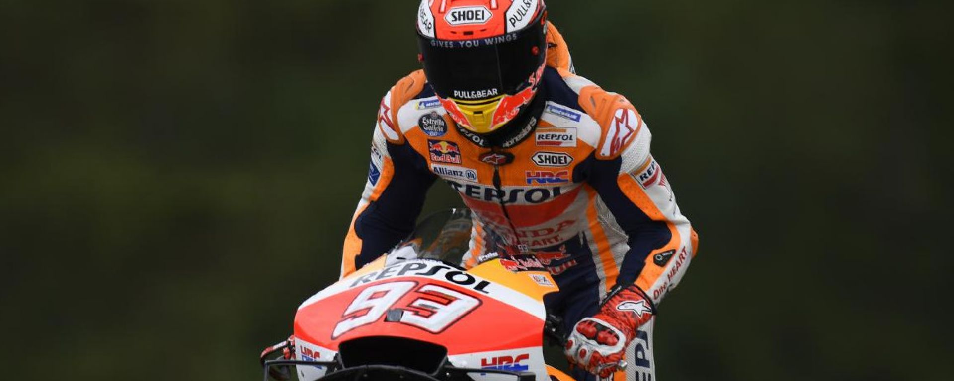 "MotoGP Rep.Ceca, Marquez in pole: ""Un rischio enorme"""