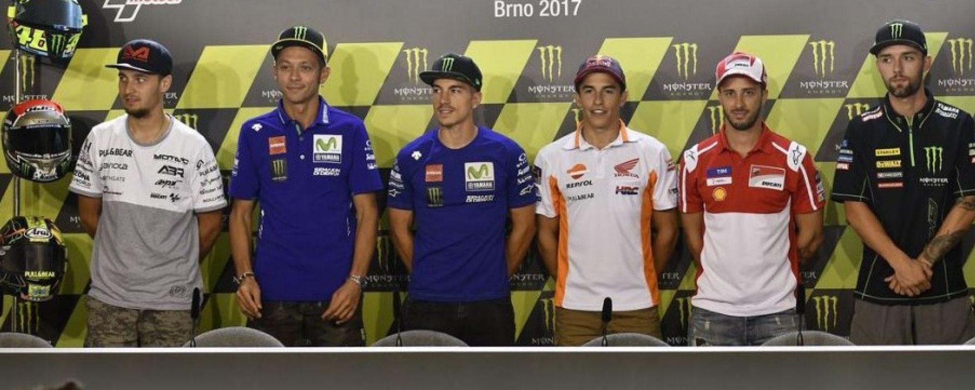 MotoGP Repubblica Ceca 2017, conferenza stampa