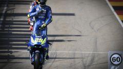 MotoGP Sachsenring 2018, Andrea Iannone lascia la corsia dei box