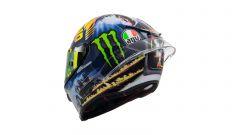 MotoGP San Marino 2018, il casco di Valentino Rossi: Back to Misano
