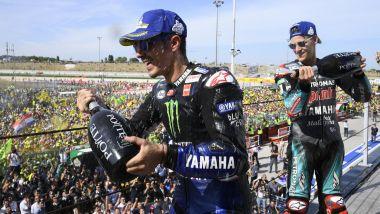 MotoGP San Marino 2019, Misano, Fabio Quartararo (Yamaha), Maverick Vinales (Yamaha)