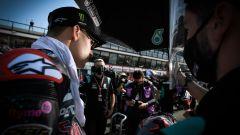 MotoGP San Marino 2020, Fabio Quartararo sulla griglia di partenza di Misano